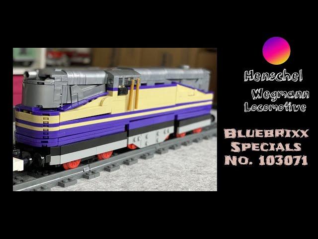 Bluebrixx Specials No. 103071 Henschel Wegmann Lok - ist das euer ernst? Anfang top, aber das Ende..