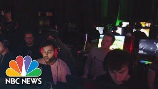 Esports Fill Void As Pro Sports Cancelled Amid Coronavirus Outbreak | NBC News NOW