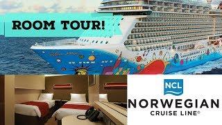 Norwegian Breakaway Inside Cabin Tour