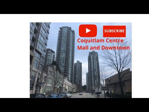 A Walk Around Downtown Coquitlam And Coquitlam Centre Mall.