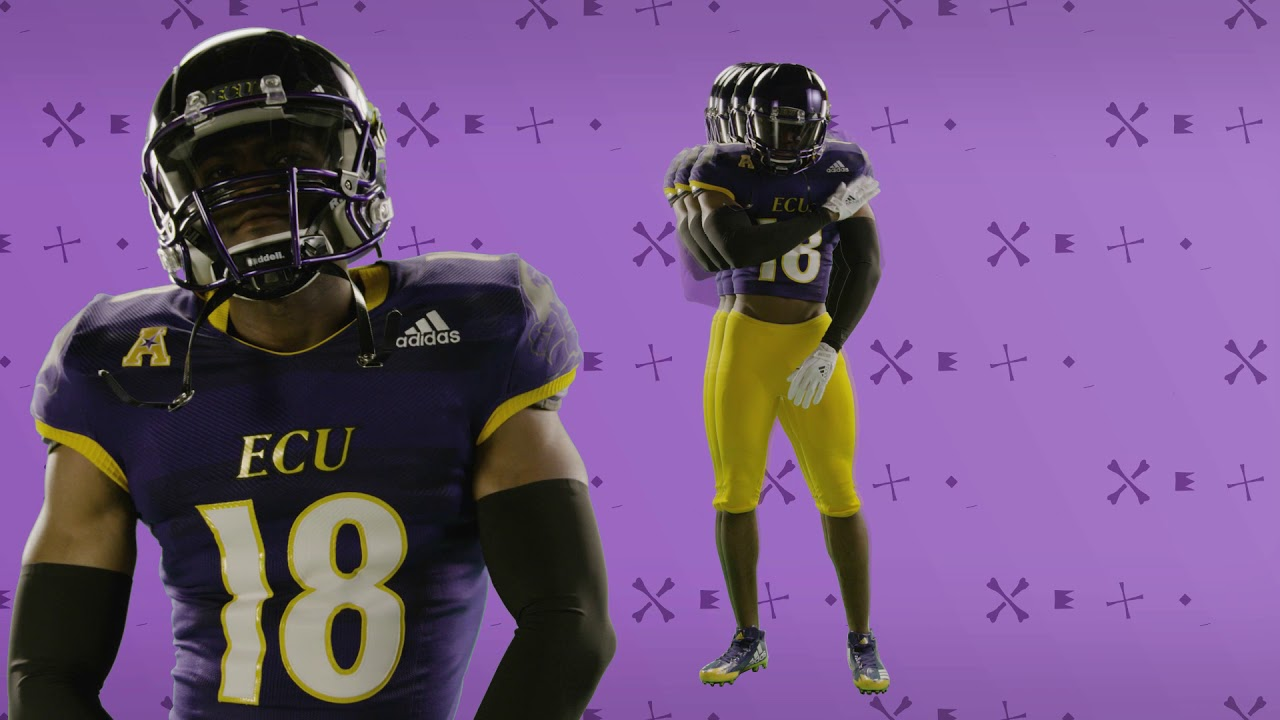 hot sale online 558a9 c0c9b 2018 ECU Football Uniform Unveil