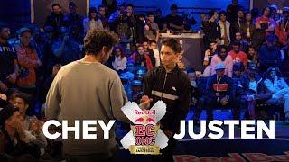 BBOY CHEY vs BBOY JUSTEN / SEMI FINAL / RED BULL BC ONE 2017 LAST CHANCE CYPHER