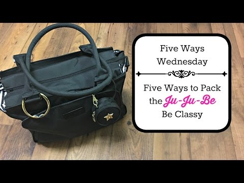 Five Ways Wednesday: How to Pack the Jujube Be Classy