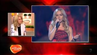 X Factor loses best talent Reigan Derry
