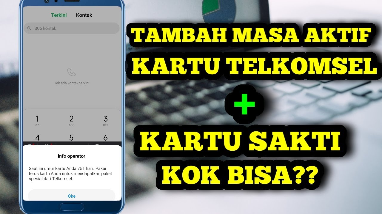 Kartu Sakti Telkomsel | tambah masa aktif kartu telkomsel