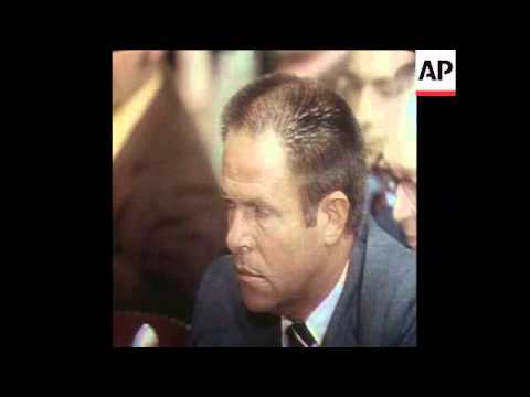 SYND 31-7-73 HALDERMAN QUESTIONED BY THE SENATE WATERGATE COMMITTEE