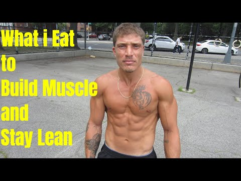 What i Eat to Build Muscle and Stay Lean BarNaturalPrez