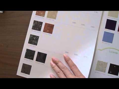 ราคาหินเทียม quarella 2010 price list