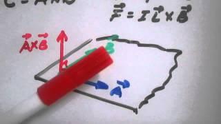 Regla de la mano derecha - Fuerza magnética