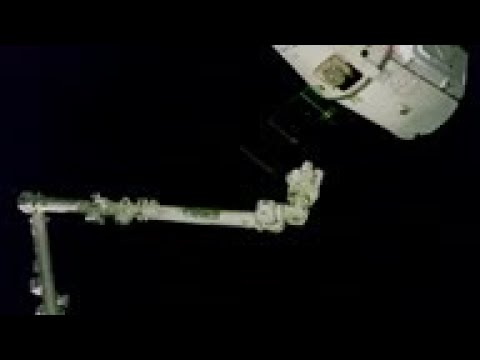 SpaceX Dragon supply ship docks at international space station - AP Archive