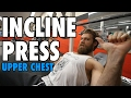 Incline Barbell Press Upper Chest How To Exercise Tutorial