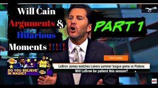 Will Cain BEST Arguments & Hilarious Moments 😱🤣🤷♂️🤦♂️   Part 1
