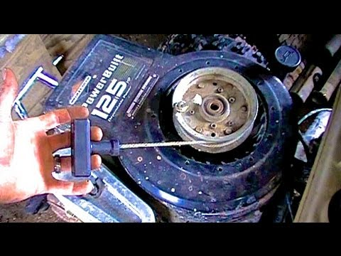 Build Your Own Drill Spin Starter For Your Lawnmower