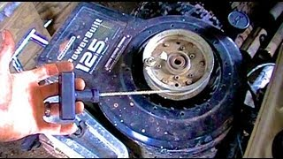 How to: Cheap/Easy Pull Start for Riding Mowers