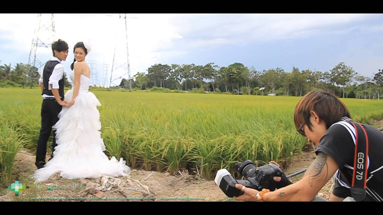 Wedding Photography Videography Malaysia Singapore Behind The Scene Kryptonite Entertainment You