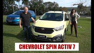 Baixar Chevrolet Spin Activ7 - Primeiras impressões do Emilio e da Camila Camanzi