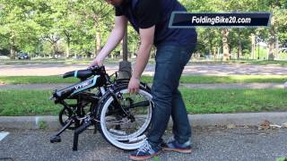 Dahon Vybe C7A Bike - How to Fold and Unfold