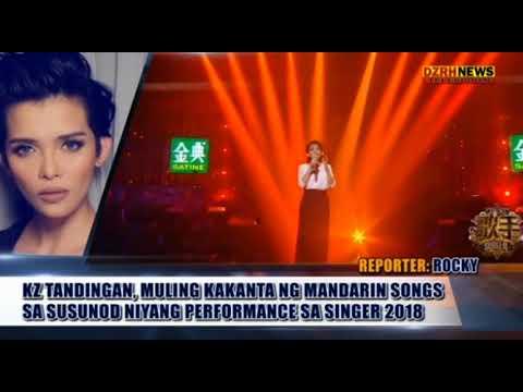 KZ TANDINGAN, KAKANTA MULI NG MANDARIN SONGS