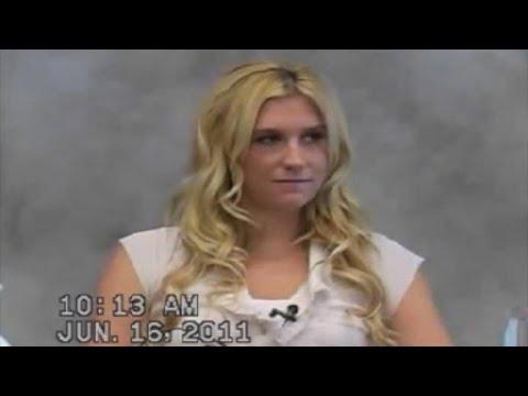 WATCH: Kesha Denies Dr. Luke Sexual Assault in Excerpt From 2011 Deposition Video