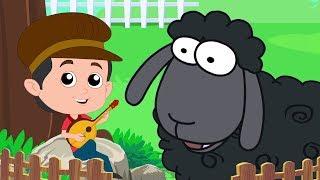 Баа баа черная овца | овцы стишки для детей | Дошкольные песни | Baa Baa Black Sheep | Baby Songs