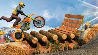 RAMP BIKE STUNTS 3D ANDROID GAME #MotorCycle Racer Game #Bike Games To Play #Games For Android