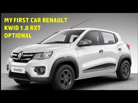 My First Car Renault Kwid Rxt 1000cc Optional Full Review Youtube