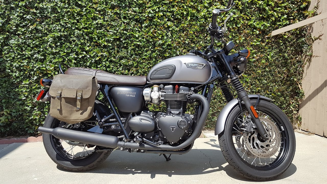 How To Wax Canvas Pannier Saddlebag For Triumph