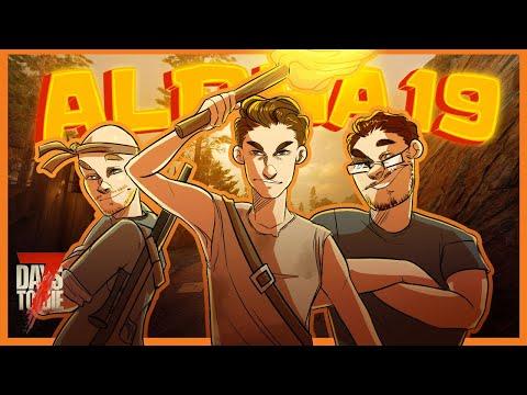Alpha 19 Multiplayer Begins! - 7 Days to Die Alpha 19 Multiplayer Gameplay EP1