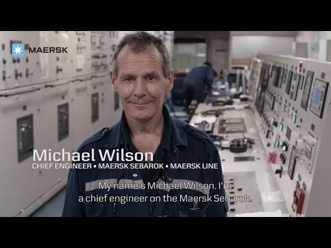 "The Values to me: Chief Engineer in Maersk, Michael Wilson, on ""Constant Care"""