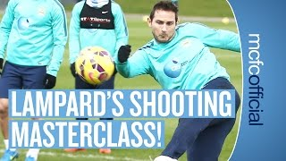 Manchester City: Frank Lampard's Finishing Masterclass in Training
