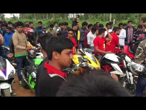 Bangalore Sports Bike|Nandi Hill|15th August