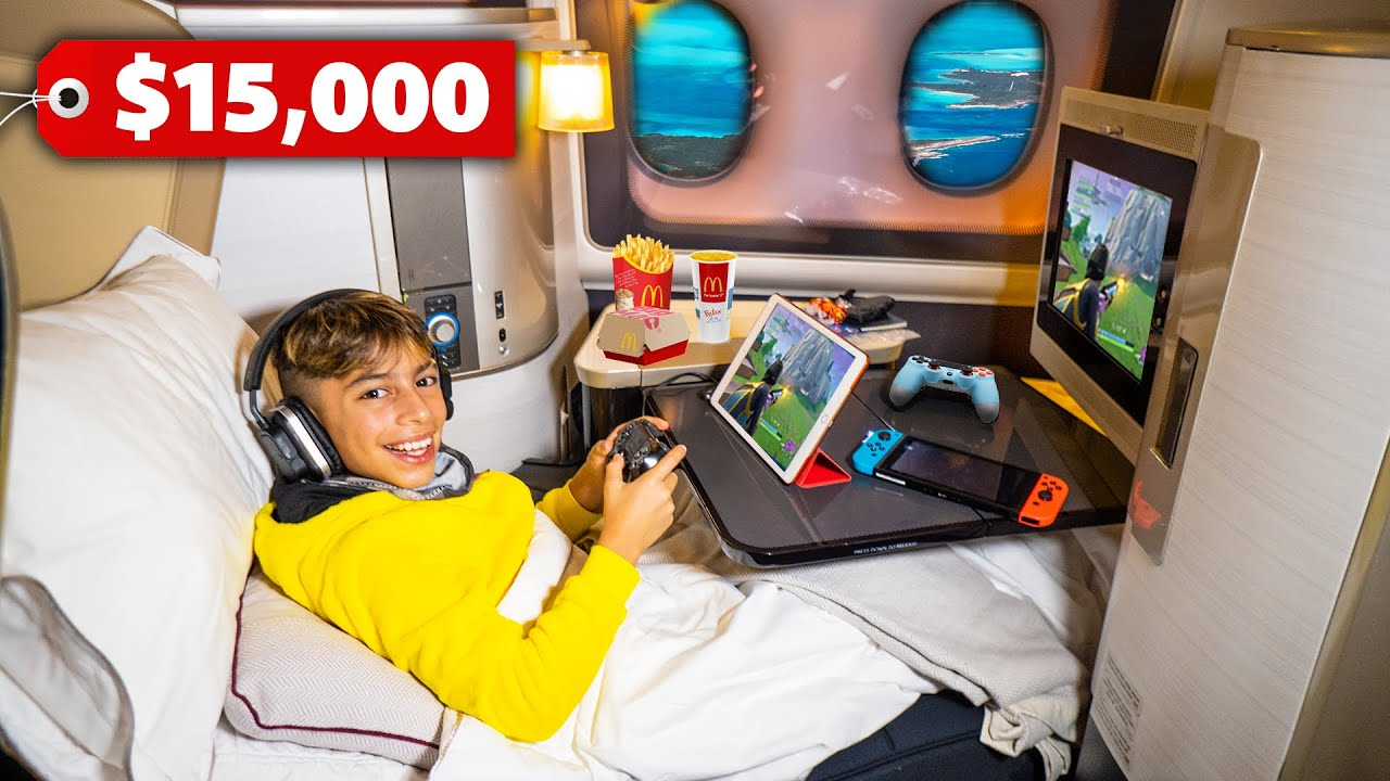 Download Traveling FIRST CLASS To DUBAI! ($15,000 Seat) | The Royalty Family