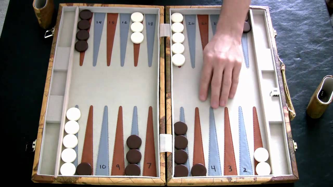 backgammon starting moves