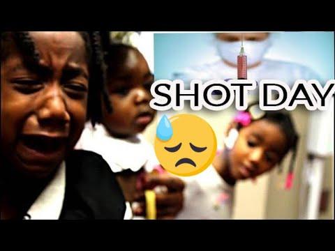 Kids  Gets School Shots💉💉💉