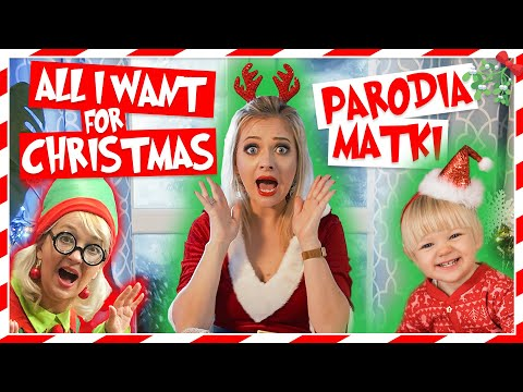 ALL I WANT FOR CHRISTMAS - PARODIA MATKI 😂💥