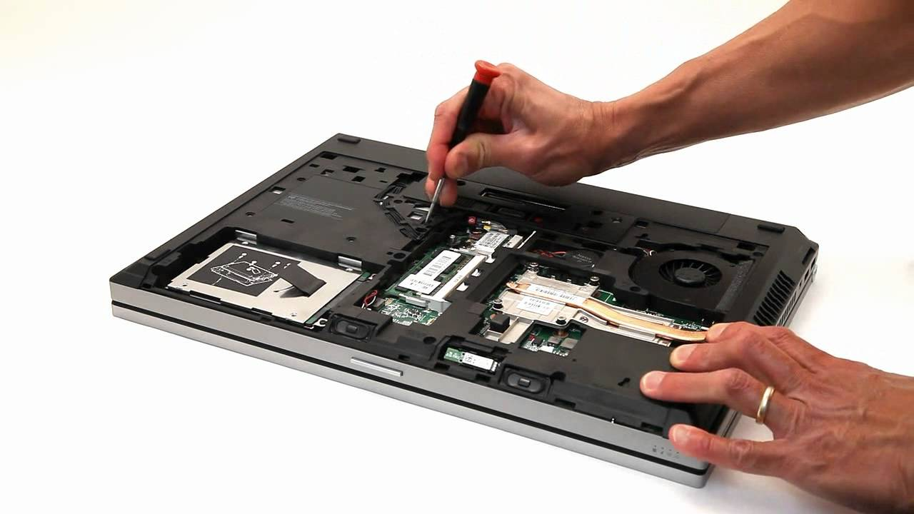 Add a 2nd HDD / SSD to a HP Elitebook 8570p, 8560p