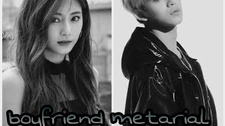 Tzuyu x Lucas \\ Boyfriend Metarial