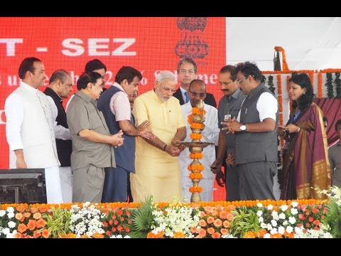 PM Modi lays Foundation Stones of JNPT Port Trust SEZ & Port Connectivity Road