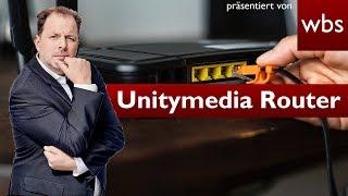 Unitymedia darf eure Router als WLAN-Hotspot nutzen | Rechtsanwalt Christian Solmecke