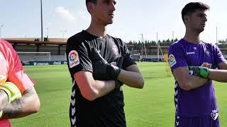 Presentación camisetas de portero para la temporada 2019/20