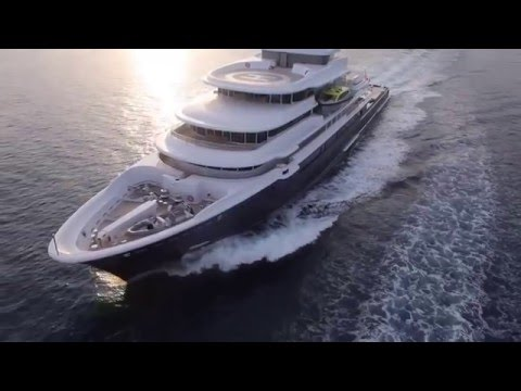 Супер мега яхта LUNA HD SUPER YACHT