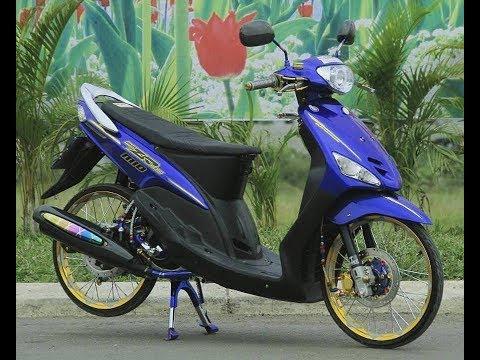Modifikasi Yamaha MIO Lawas Thailook Style