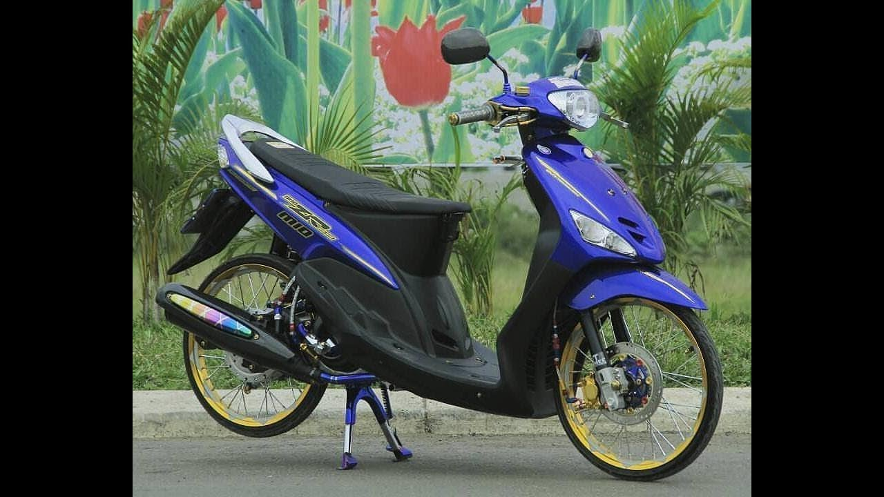 Modifikasi Yamaha Mio Lawas Thailook Style Youtube