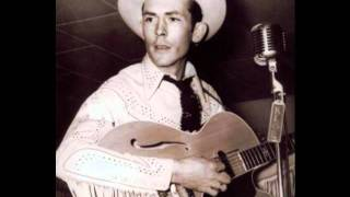"""Hank Williams """"Someday You'll Call My Name And I Won't Answer"""""""