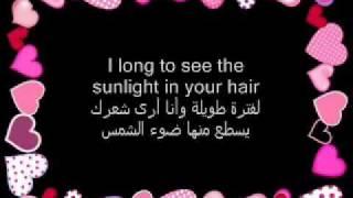 Lionel Richie - Hello Lyrics (English _ Arabic ) .FLV