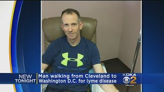 Man Walking From Cleveland To D.C. For Lyme Disease