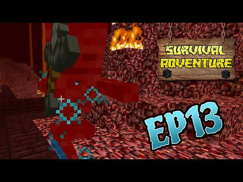 MINECRAFT SURVIVAL ADVENTURE EP13 | WITHER HEAD PRESENT | CHAD, DOLLASTIC & AUDREY