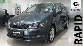 2018 Skoda Rapid Style | most  detailed review | price | features | specifications !!!