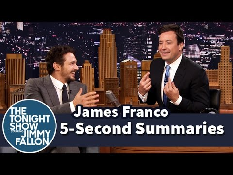 5-Second Summaries with James Franco – Part 2