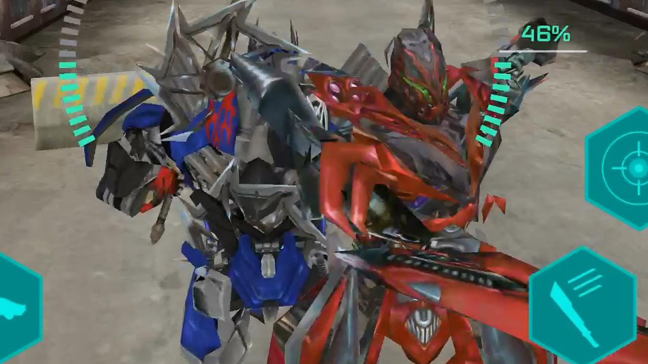 Transformers: Age of Extinction - Stinger Boss Battle - YouTube